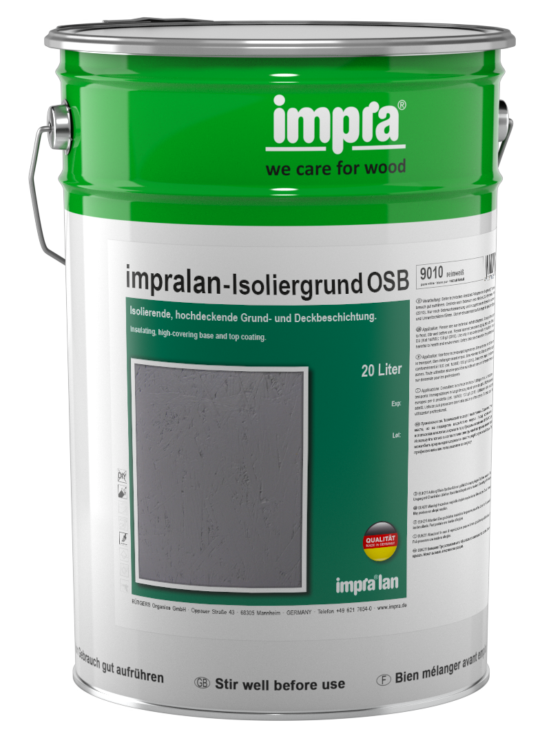 Impralan Isoliergrund Osb Impra We Care For Wood